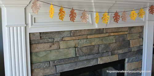 Thankful Banner (Photo from Frogs, Snails, and Puppy Dog Tails)
