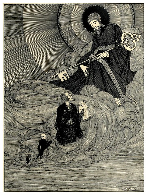 002-el violinista de Dooney-The year's at the spring…1920- ilustrador Harry Clarke