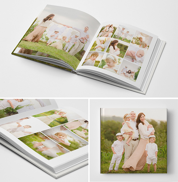 Photoshop PSD Photo Book Album Template for Photographers
