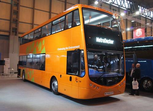 Euro Bus Expo 2014 - Optare MetroDecker