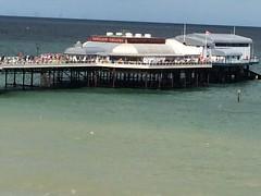 sea, pier,