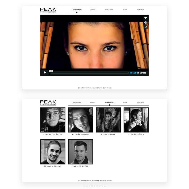 peak - website