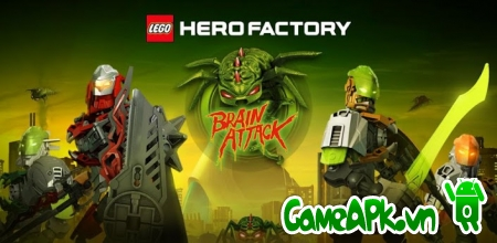 LEGO® HeroFactory Brain Attack v2.2 hack full tiền cho Android