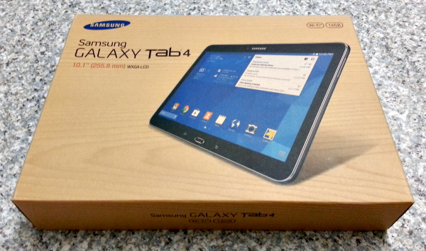 BuyDig.com Samsung Galaxy Tab 4 Box