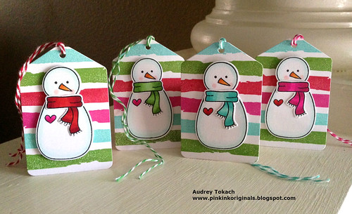 Snowman Tags 2