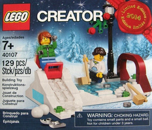 LEGO Creator Holiday Exclusive Ice Skating (40107)