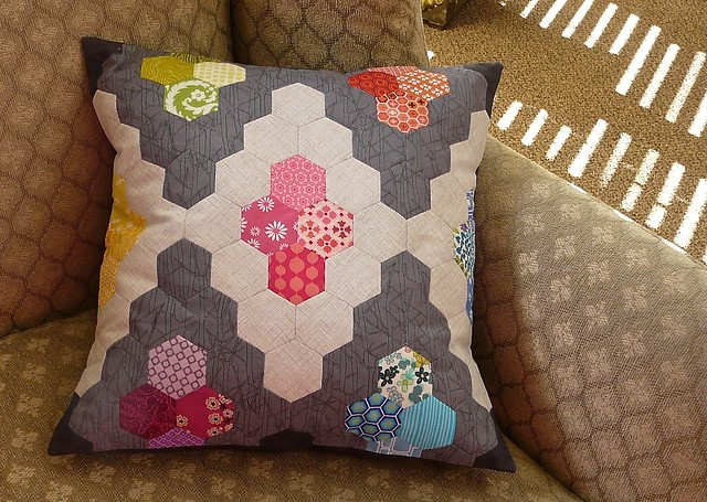 Hexie Diamond Pillow