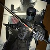 Presenting new work fella here at studio. Silence is your middle name _ #snakeeyes #gijoe #hottoys
