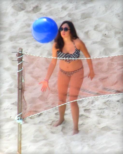 Chica voleibol