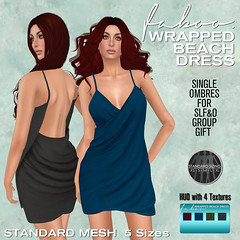 New Mesh Wrapped beach dress from FABOO
