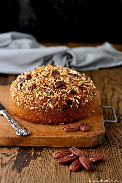 pumpkin granola cake5