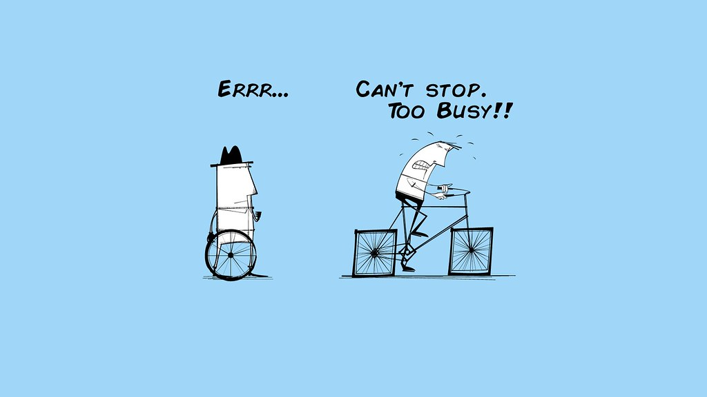 Too Busy To Improve - Performance Management - Square Wheels