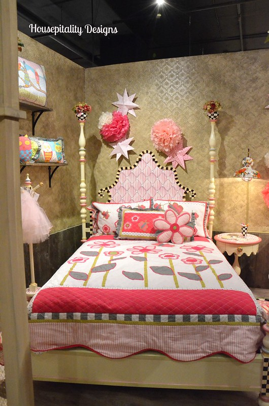 Mackenzie Bedroom Set In White: The Enchanted Collection Of MacKenzie-Childs