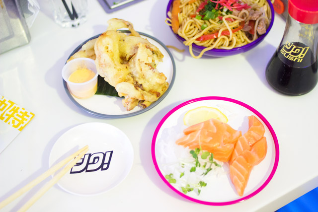 things to try at Yo Sushi
