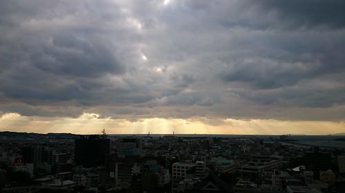 travel sunset sky cloud sun japan sunrise sony 夕陽 日本 nippon 旅行 太陽 日落 z2 nihon 天空 backpackers 朝霞 日出 晚霞 雲彩 自助旅行 wakayamaken 和歌山県 日本国 和歌山城 xperia d6503 にほんこく わかやまけん わかやまじょう xperiaz2