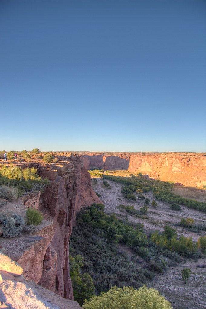Canyon de Chelly View from South Rim Drive