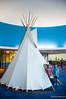 282:365 - 10/19/2014 - American Indian Museum Hut