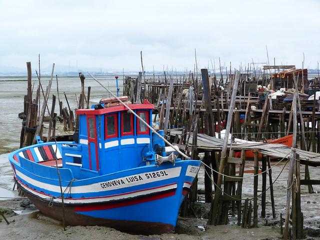 Puerto palafítico de Carrasqueira (Alentejo, Portugal)
