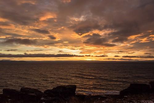 sea sky sun norway norge nationalgeographic finnmark porsanger porsangerfjord sortvik einarschioth ytresortvik