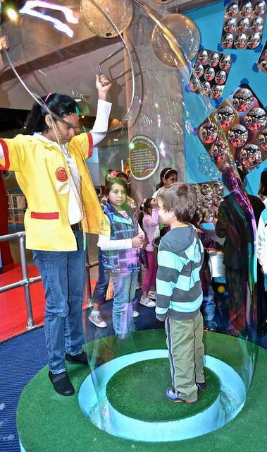 bubble mania, el museo de los niños, Guatemala City