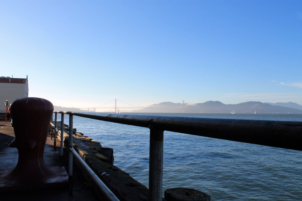 Golden Gate Bridge #travel via The Caffeinated Closet