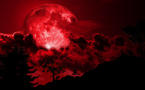 Amazing Facts about the Moon: Blood Moon