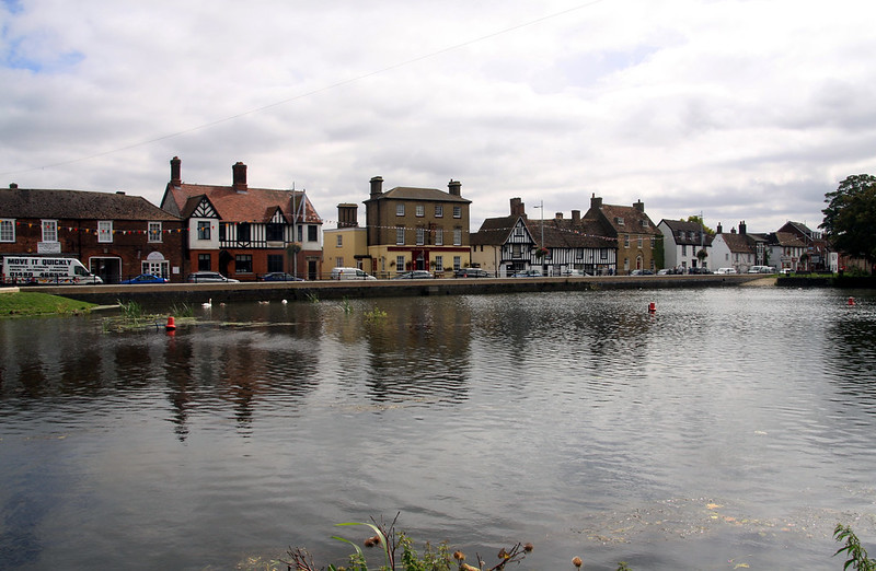 Godmanchester across the Ouse
