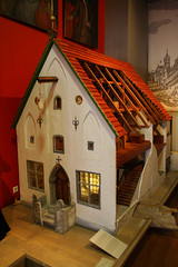 wood, house, dollhouse, home,
