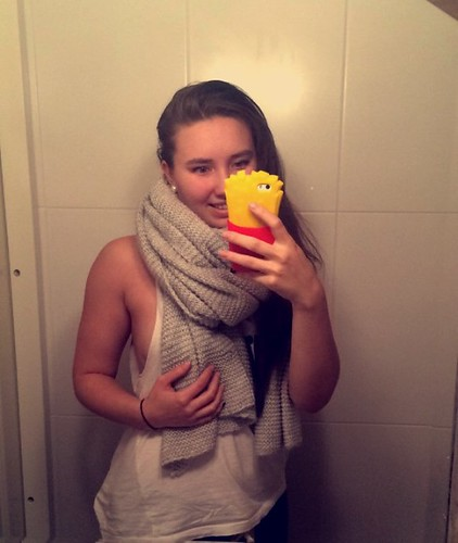 New phone case and scarf