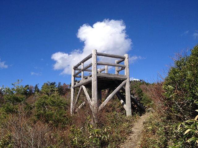 白山スーパー林道 とがの木展望台