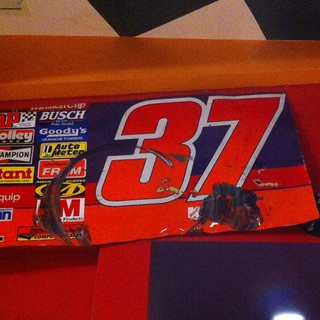 # 37  Race Used Sheet Metal.   NASCAR RACE at Texas Motor Speedway.