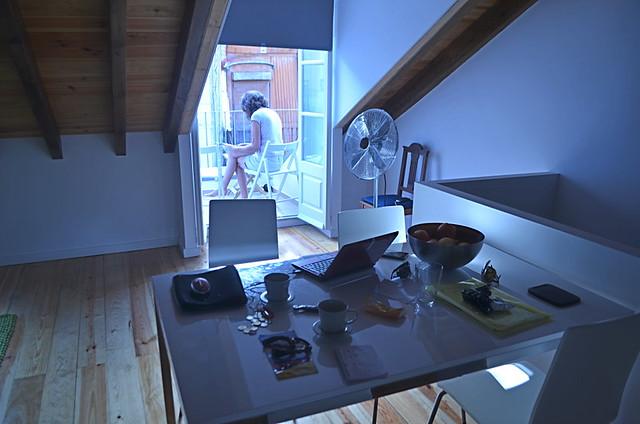 Attic apartment, Rua da Bica, Bairro Alto, Lisbon