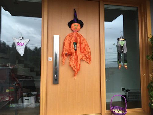 Halloween decorations at home