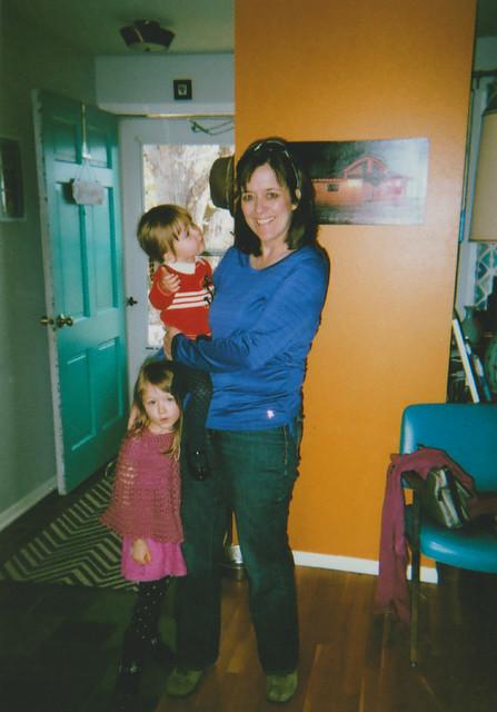 Grandma Sue Cordelia and Elise