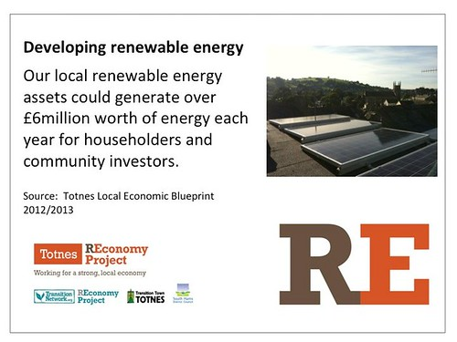 Renewable Energy - Local Economic Blueprint 2012/13