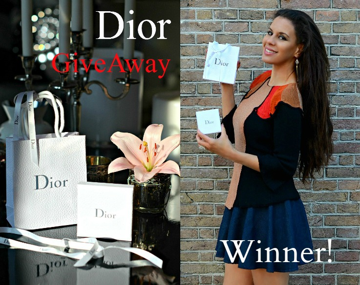 Collage Dior Giveway winner FINAL with text jpg