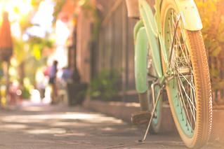 Bike on Espanola Way