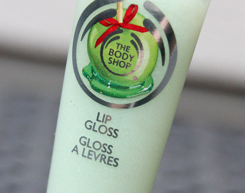 TBS Glazed apple lip gloss