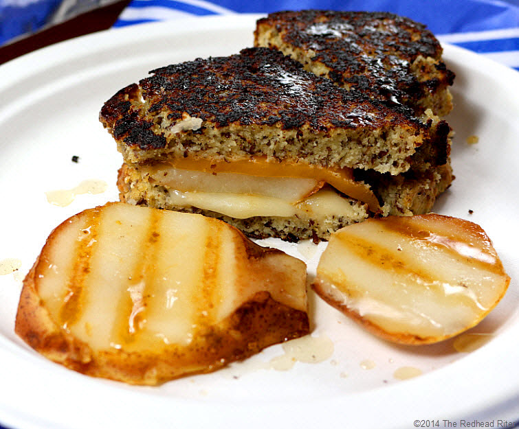 13 Grain Free Grilled Cheese Pear Sandwich recipe