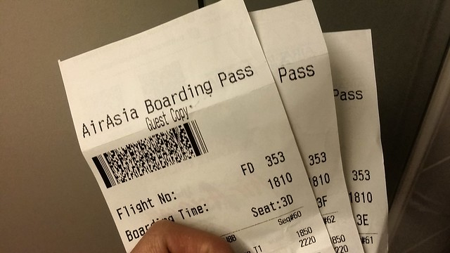 AirAsia Boarding Passes give you extra privileges!