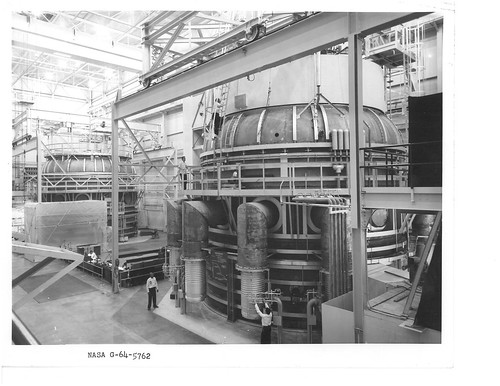 NASA Goddard Test Chambers in the 60s