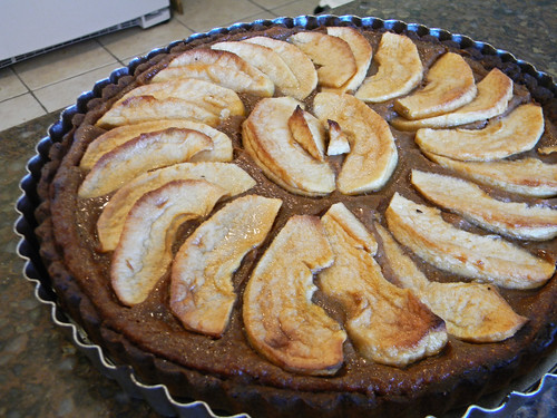 Pumpkin Apple Tart