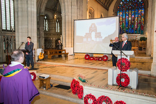 141111 - Schools Rememberance Gathering at St George's Cathedral