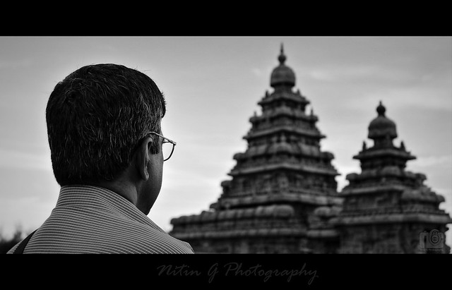 Appa at Mahabalipuram