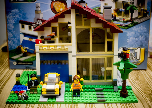 Life In Plastic Lego Creator Family House 31012 Review J Ent