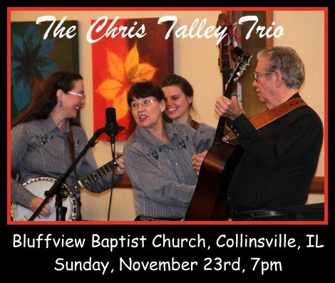 The Chris Talley Trio 11-23-14