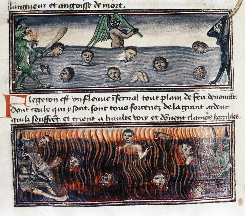 Demons From The Livre de la vigne nostre Seigneur, 1450 - 70 (26)