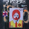 @mroneteas's The Wack Donald's Project  #Chelsea #NYC #wheatpaste