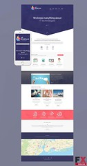 Preview Comrax Drupal Template TMT Made Shawn