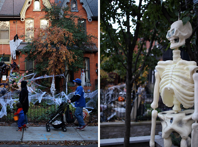 Kids and Skull Halloween Cabbagetown